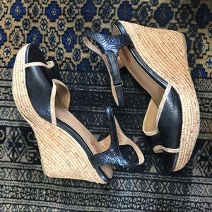 MIZ MOOZ wedge cork  heels